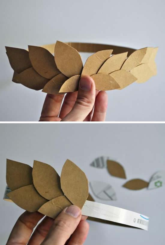 Ideias para fazer fantasias com papelão