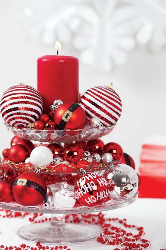 Dicas para fazer centros de mesa para o Natal