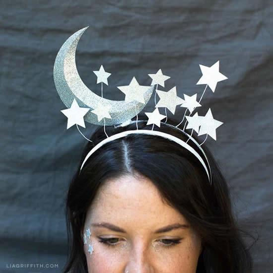 Tiaras de Lua lindas para Carnaval
