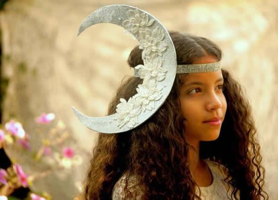 Inspiração para Tiara de Lua de Carnaval