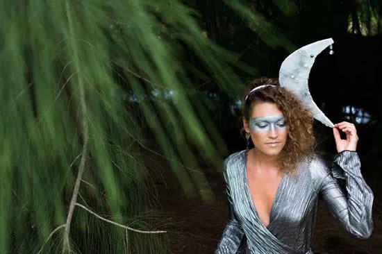 Lindas tiaras de lua para Carnaval