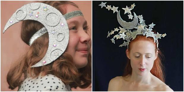 Ideias de Tiara de Lua para Carnaval