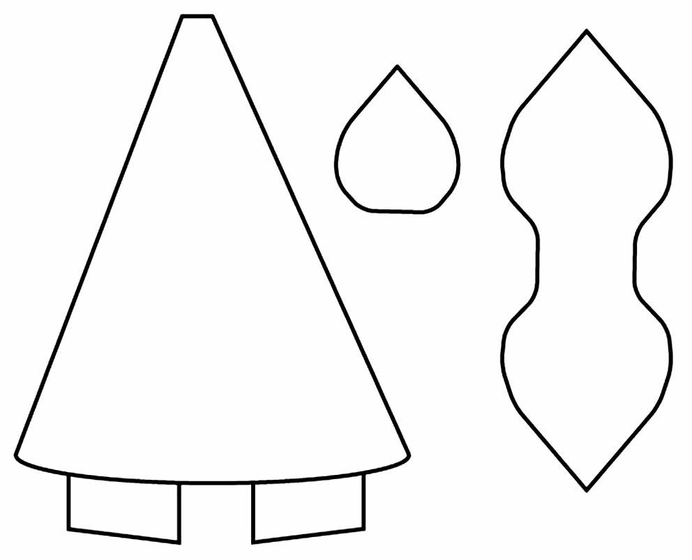Molde para tiara de unicórnio