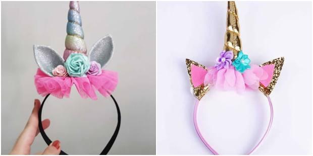 Como fazer tiara de unicórnio para Carnaval