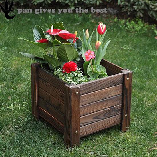 Como decorar o jardim com caixotes