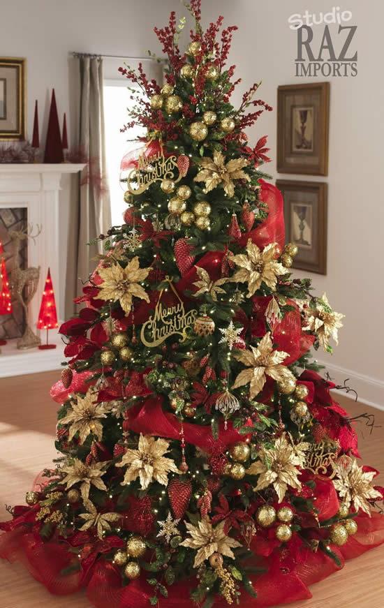 Decoração linda para Árvore de Natal