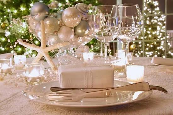 Ideias para decoração de mesa de ano novo