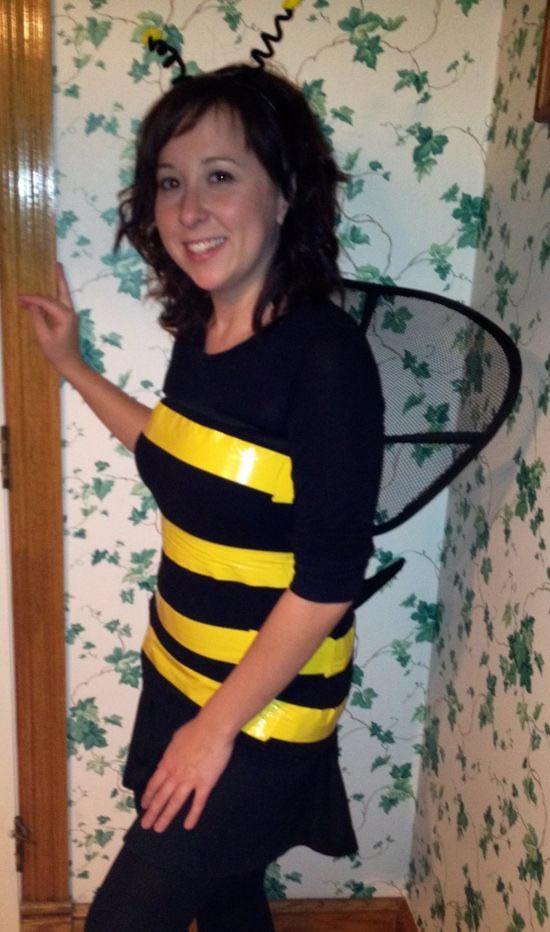 Fantasia improvisada de abelha