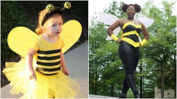 Fantasia de abelha para o Carnaval