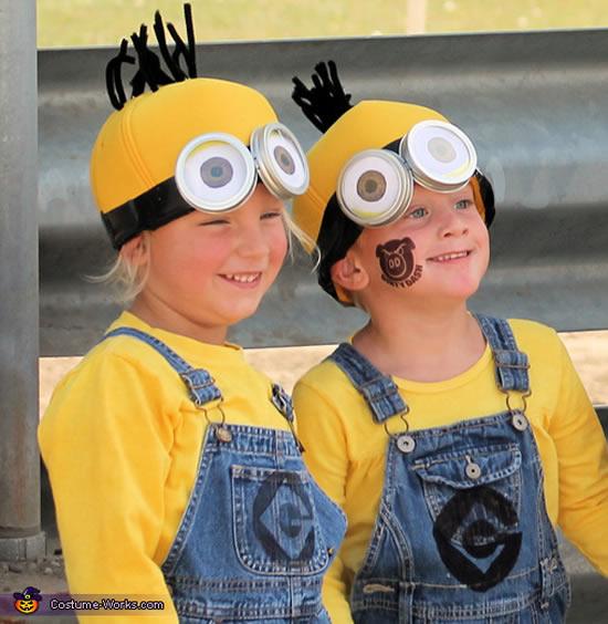 Fantasia infantil para Carnaval de Minions