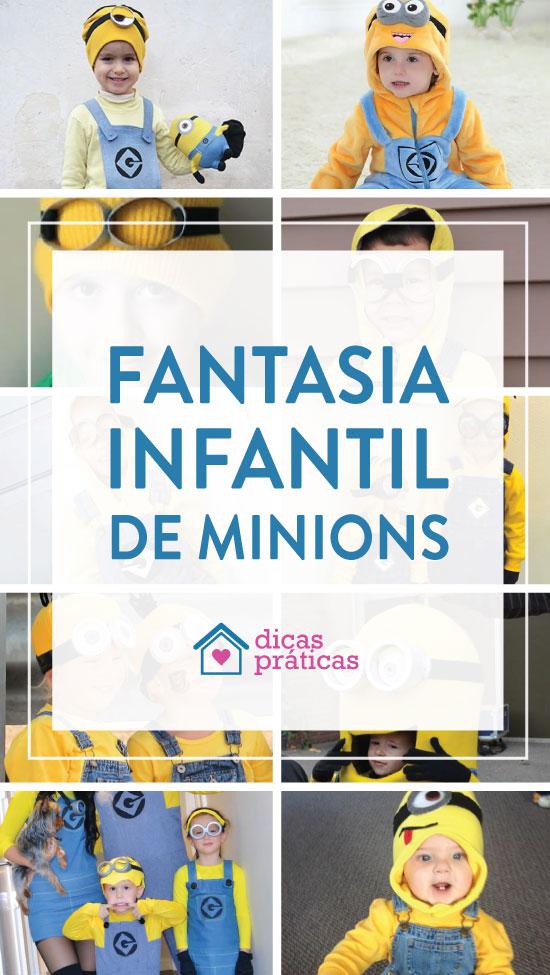 Ideias para fantasia infantil de Minions