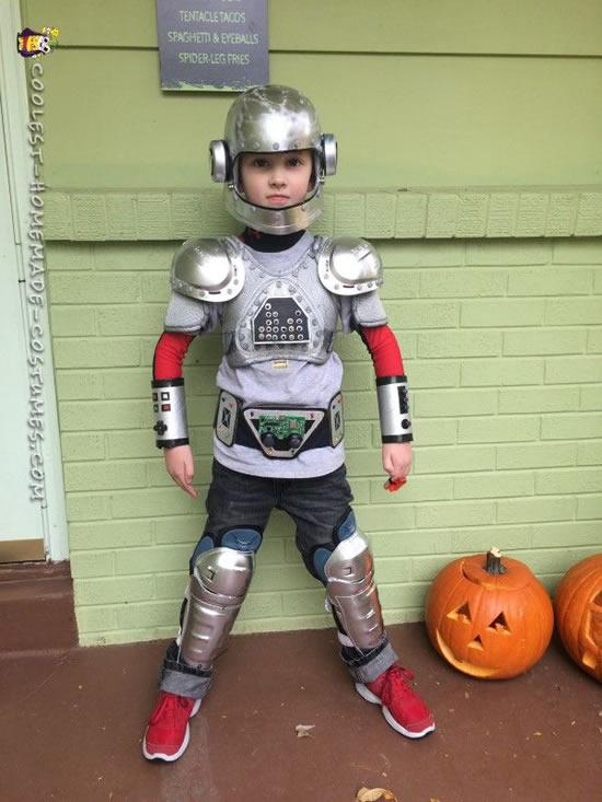 Ideia para fazer fantasia infantil de robô