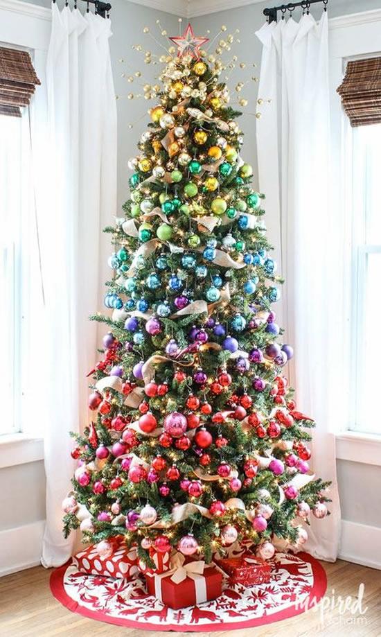 Decoração linda de Árvore de Natal