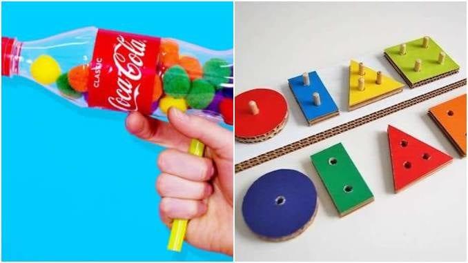 Brinquedos com reciclagem que você nunca imaginou