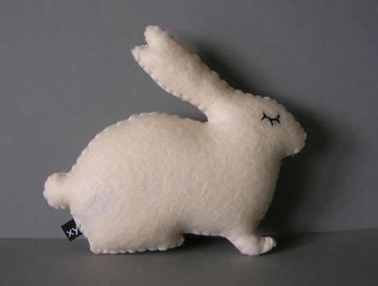Ideias de coelhinho de feltro