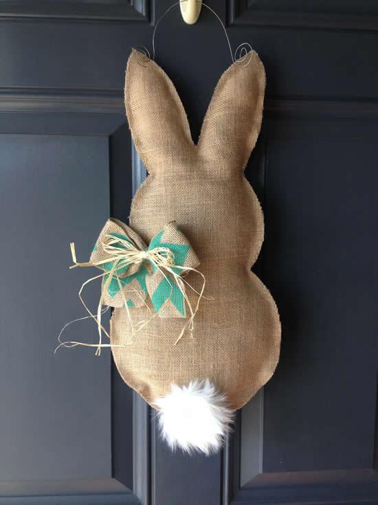 Linda decoração de Páscoa para casa
