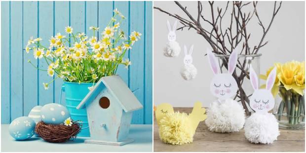 Decoração de Páscoa criativa para a casa