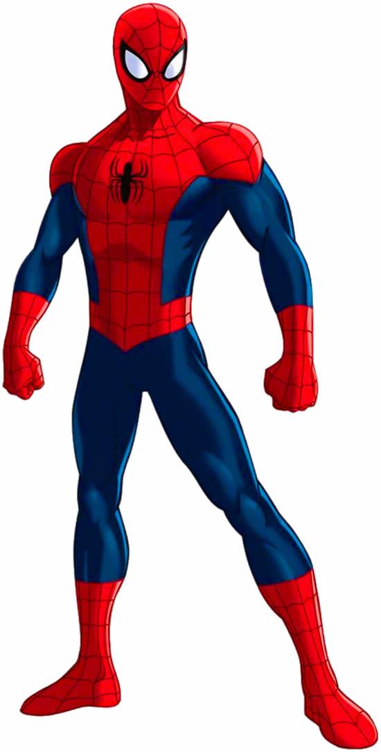 Desenho do Homem-Aranha