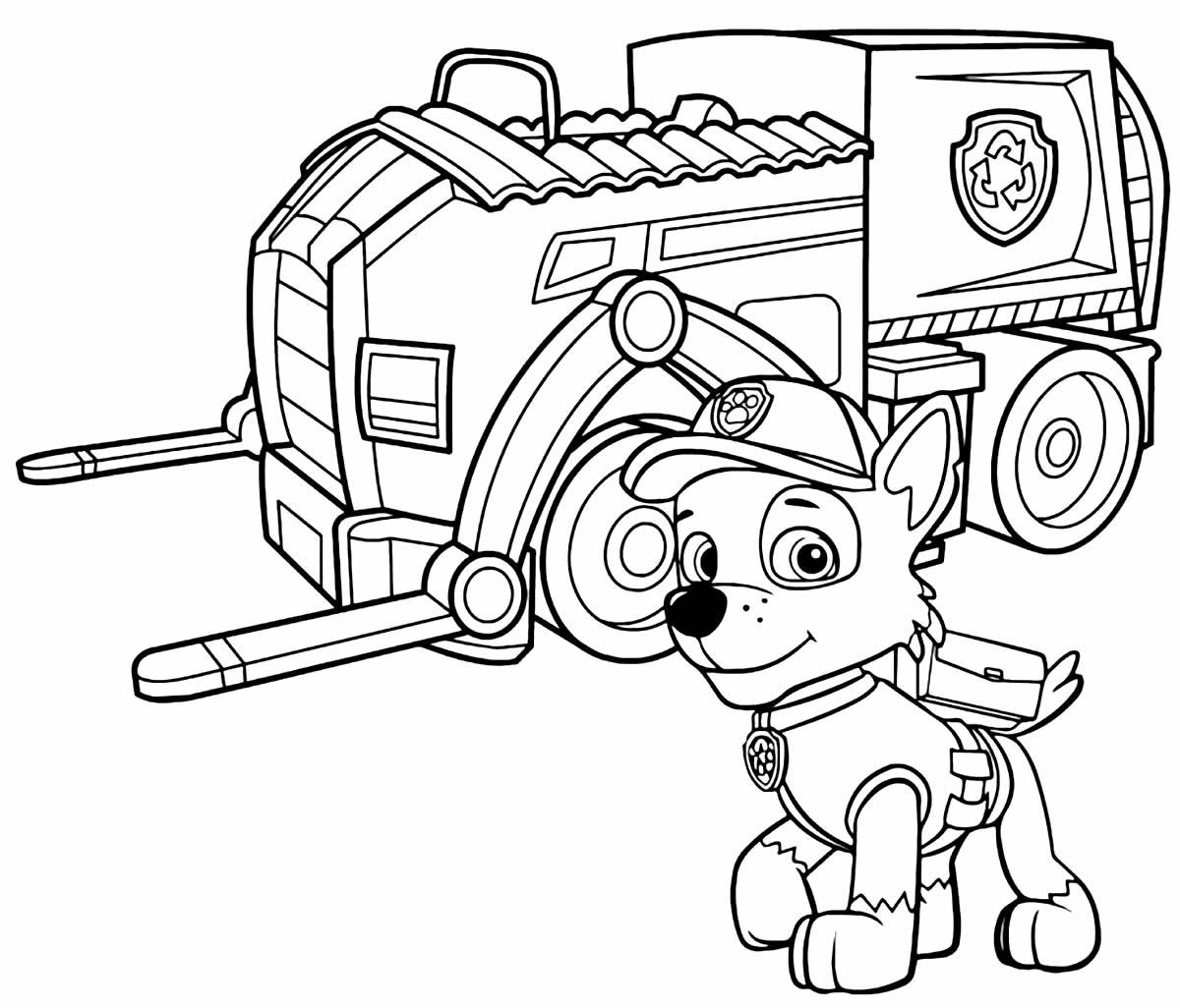 Desenhos dos carros Patrulha Canina