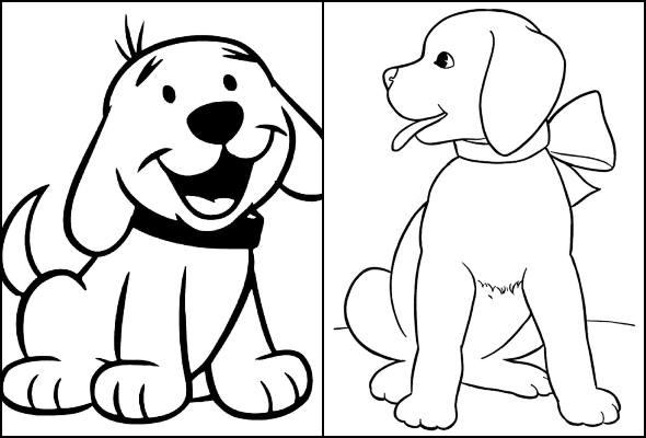 Imagens De Cachorro Para Colorir E Imprimir Dicas Praticas