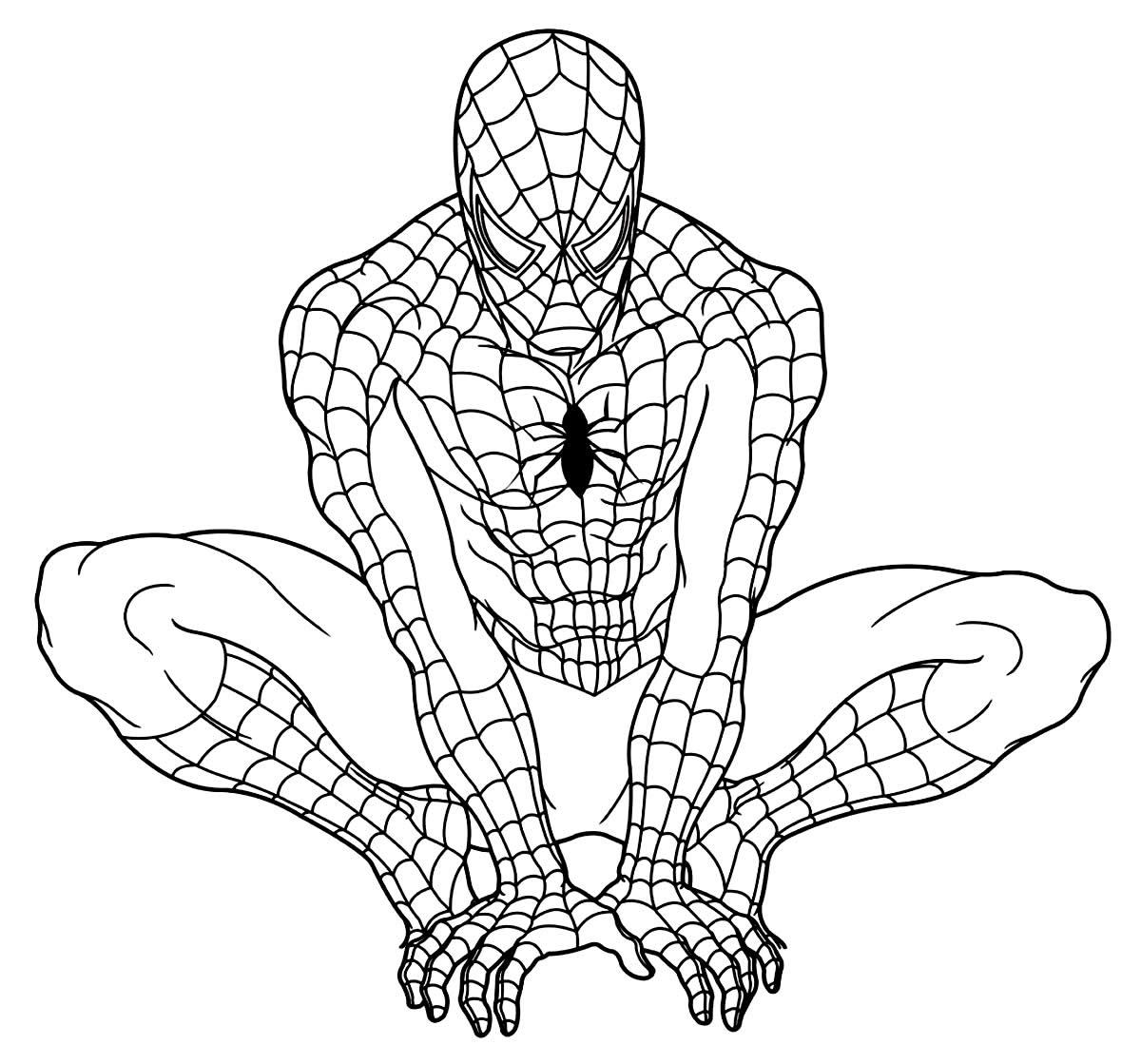 Desenhos lindos de Homem-Aranha