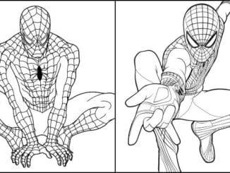 Imagens de Homem-Aranha para colorir