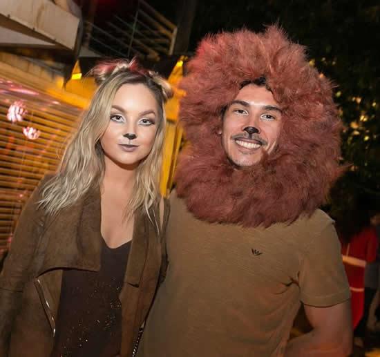 Fantasia de casal criativa para Carnaval