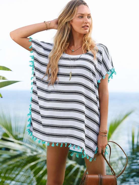 Inspirações de looks de verão moda praia