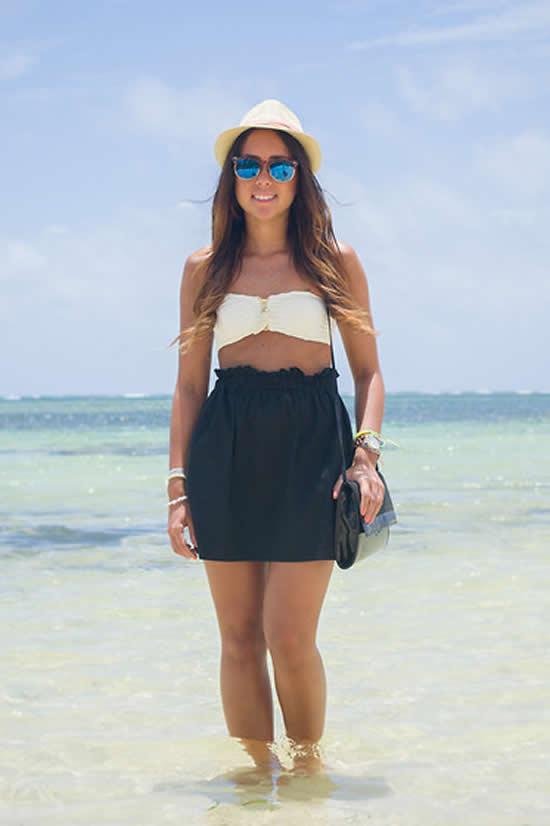 Looks moda praia de verão