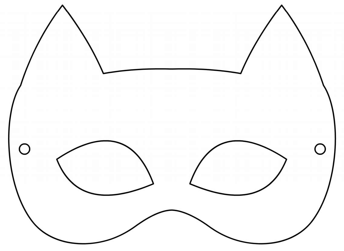 Moldes de máscaras de Carnaval