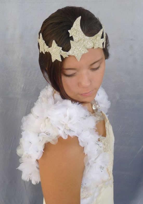 Inspirações para tiara de lua para Carnaval