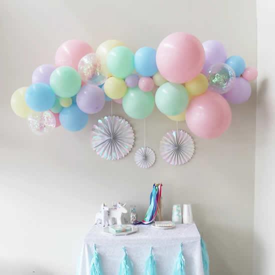 Balões para enfeitar festa de Páscoa