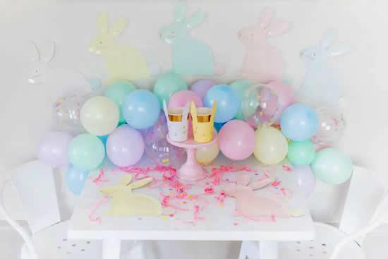 Bolas de festa para enfeitar a Páscoa