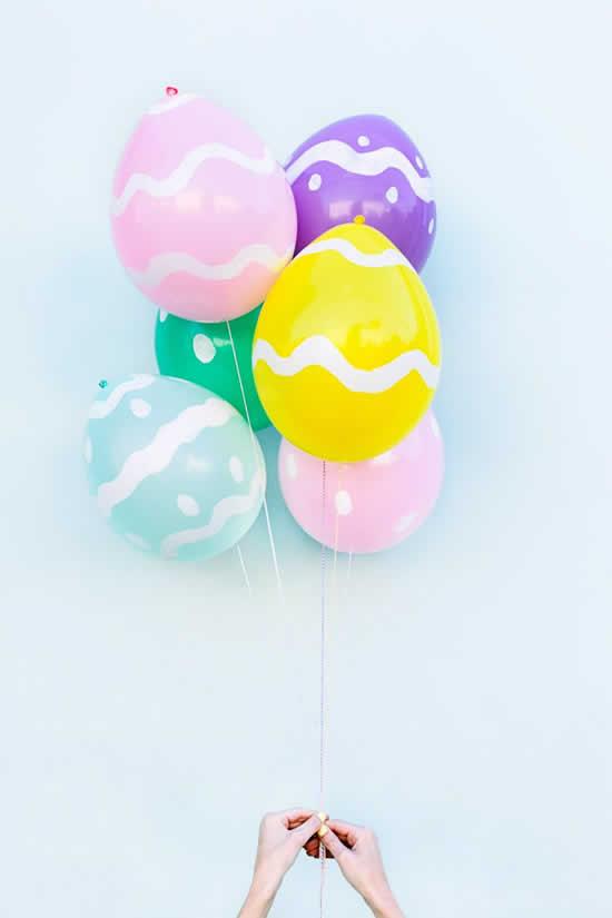 Dicas de Páscoa com balões