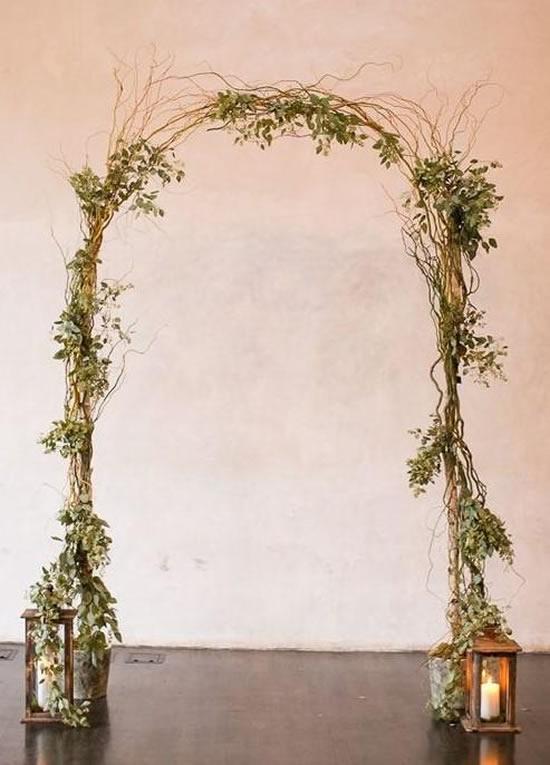 Portal lindo para decoração de casamento