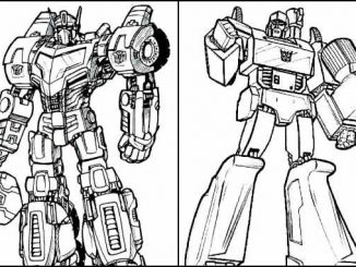 Desenhos de Transformers