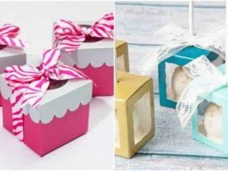 10 caixinhas para lembrancinhas com moldes