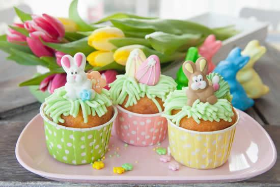 Cupcakes criativos para Páscoa
