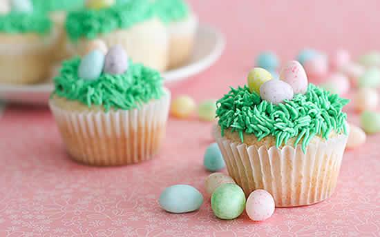 Cupcakes de ovinhos de chocolates
