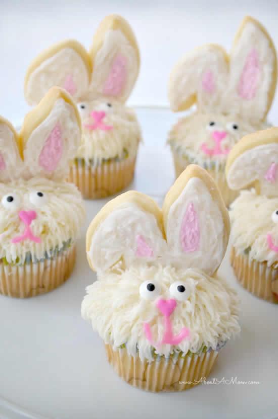 Cupcakes de coelhinhos