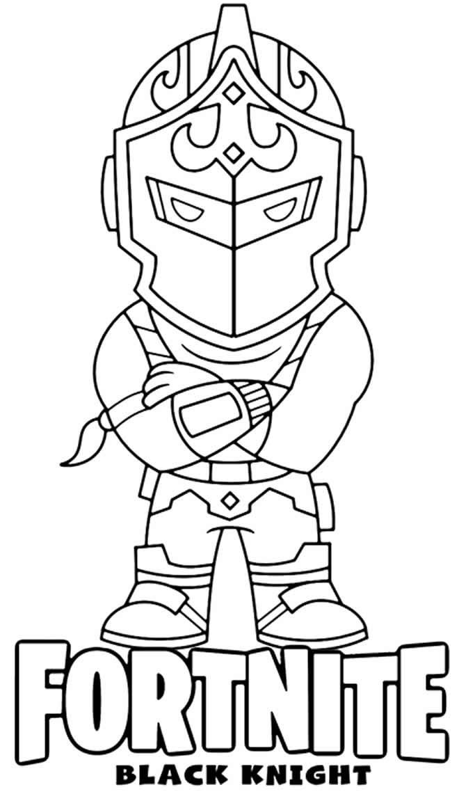 Desenho legal de Fortnite