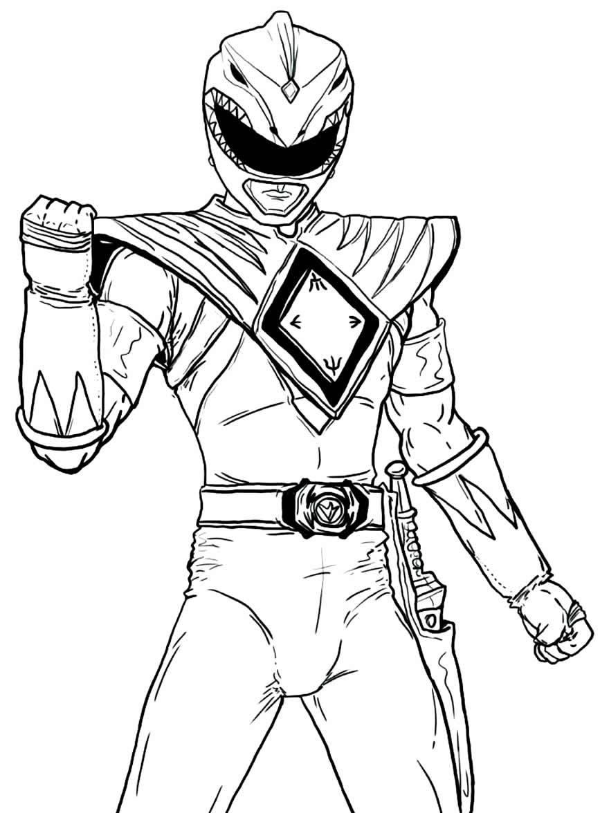 Imagem de Power Rangers para colorir