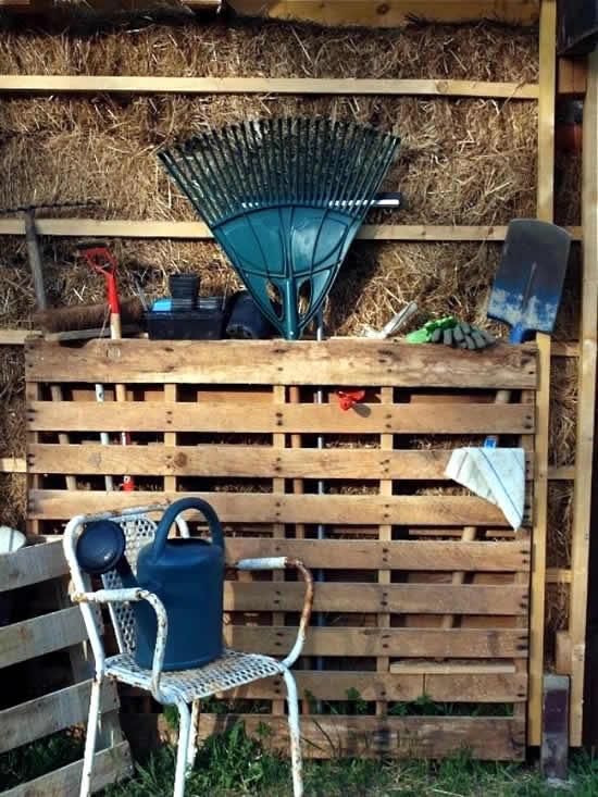 Ideias com pallets de madeira