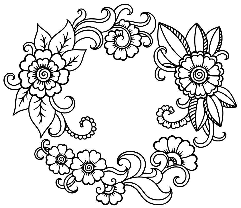 Moldes de flores para fazer artesanato