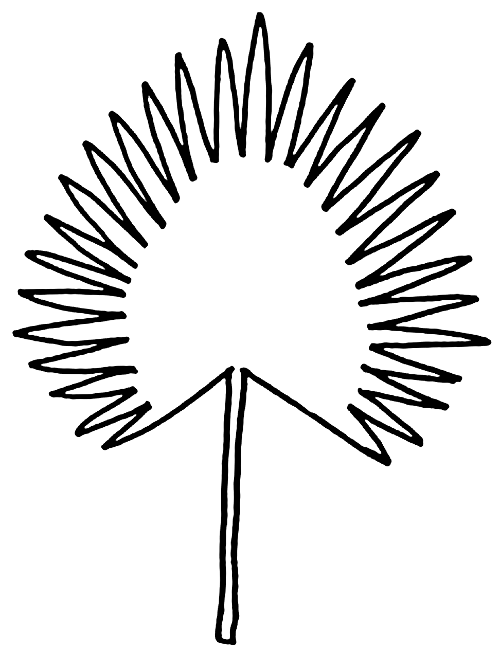 Molde de folha para evento tropical