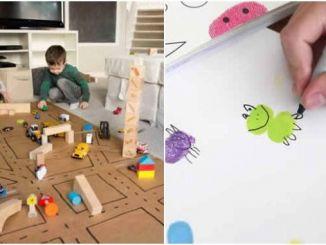 Brincadeiras para fazer com crianças