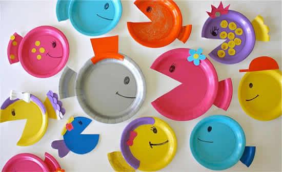 Artesanato criativo para fazer com crianças