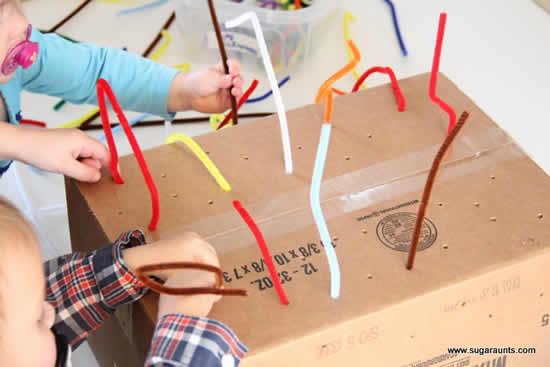Faça em casa atividades com crianças