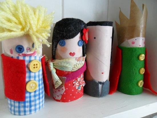Brinquedos para fazer em casa com reciclagem