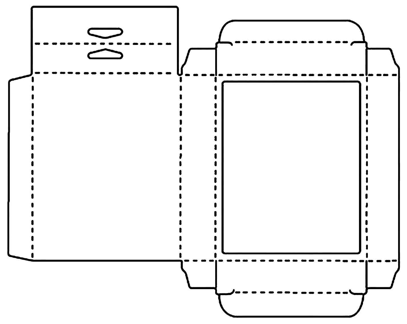 Molde de embalagem de papel